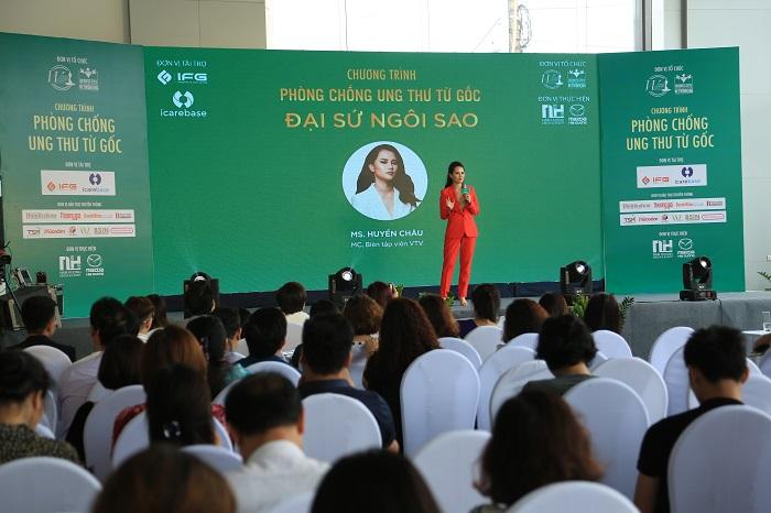 HC 3 MC   BTV VTV Huyền Châu: Chương trình Phòng chống Ung thư từ Gốc như chiếc phao cứu sinh cho vấn đề sức khỏe người Việt Nam