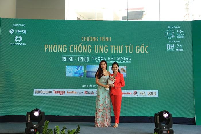 HC 4 MC   BTV VTV Huyền Châu: Chương trình Phòng chống Ung thư từ Gốc như chiếc phao cứu sinh cho vấn đề sức khỏe người Việt Nam