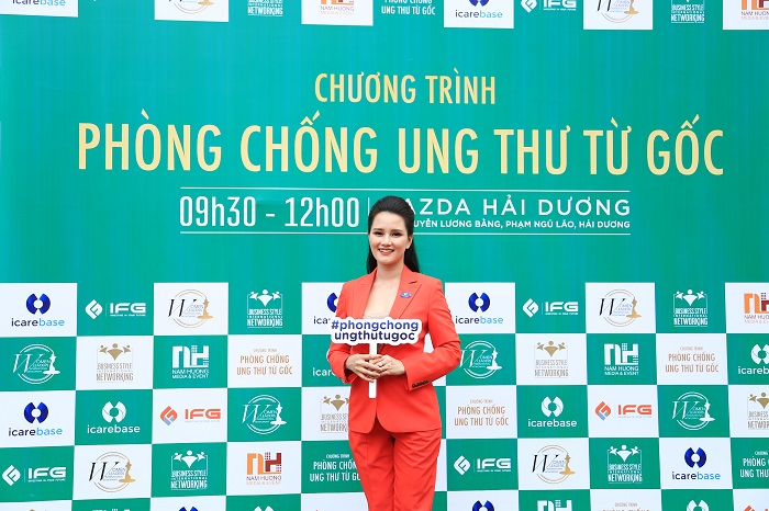 HC 5 MC   BTV VTV Huyền Châu: Chương trình Phòng chống Ung thư từ Gốc như chiếc phao cứu sinh cho vấn đề sức khỏe người Việt Nam