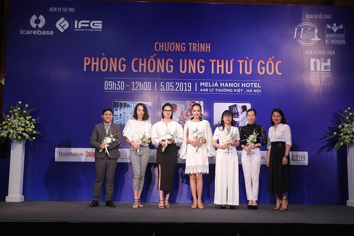 IMG 8521 Cộng đồng đang chung tay cùng iCareBase & WLIN Global trong chiến dịch Phòng chống Ung thư từ Gốc